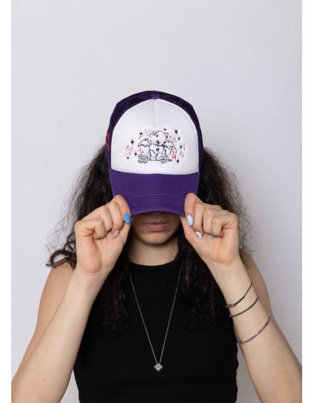 'Purple Devil' Trucker Cap