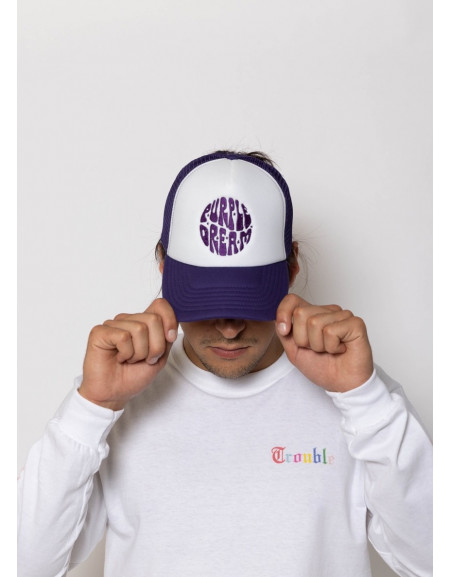 'Purple Dream' Trucker Cap