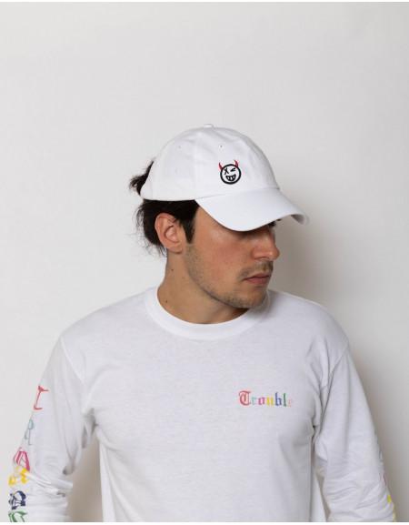 'Emoji' White Cap