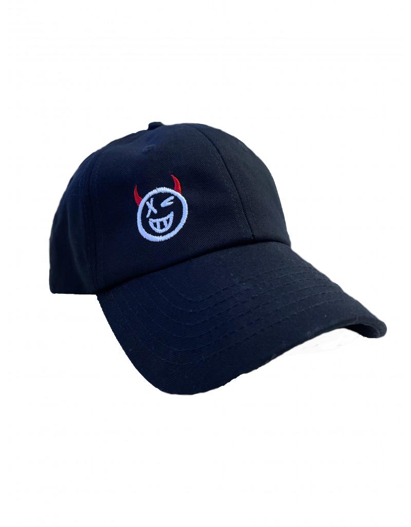 'Emoji' Embroidered Cap