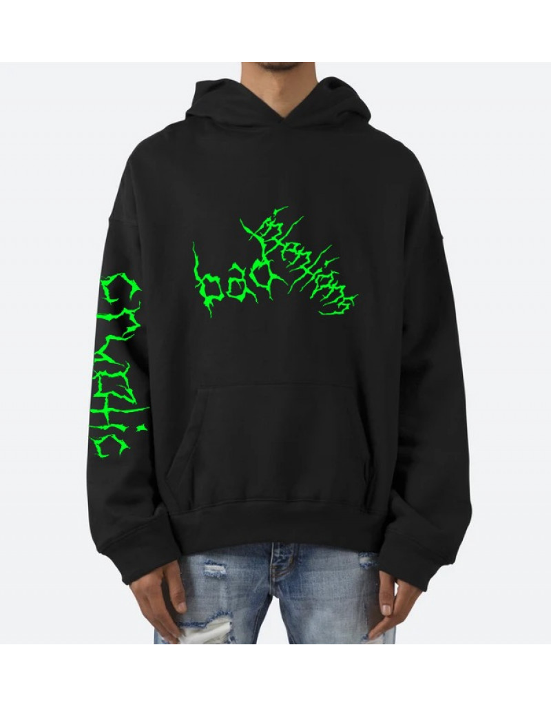 Green Cryptic Hoodie