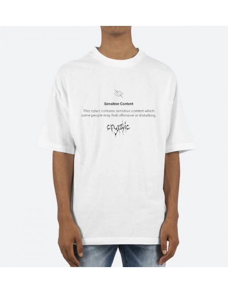 "Cryptic ""Sensitive"" Tee"