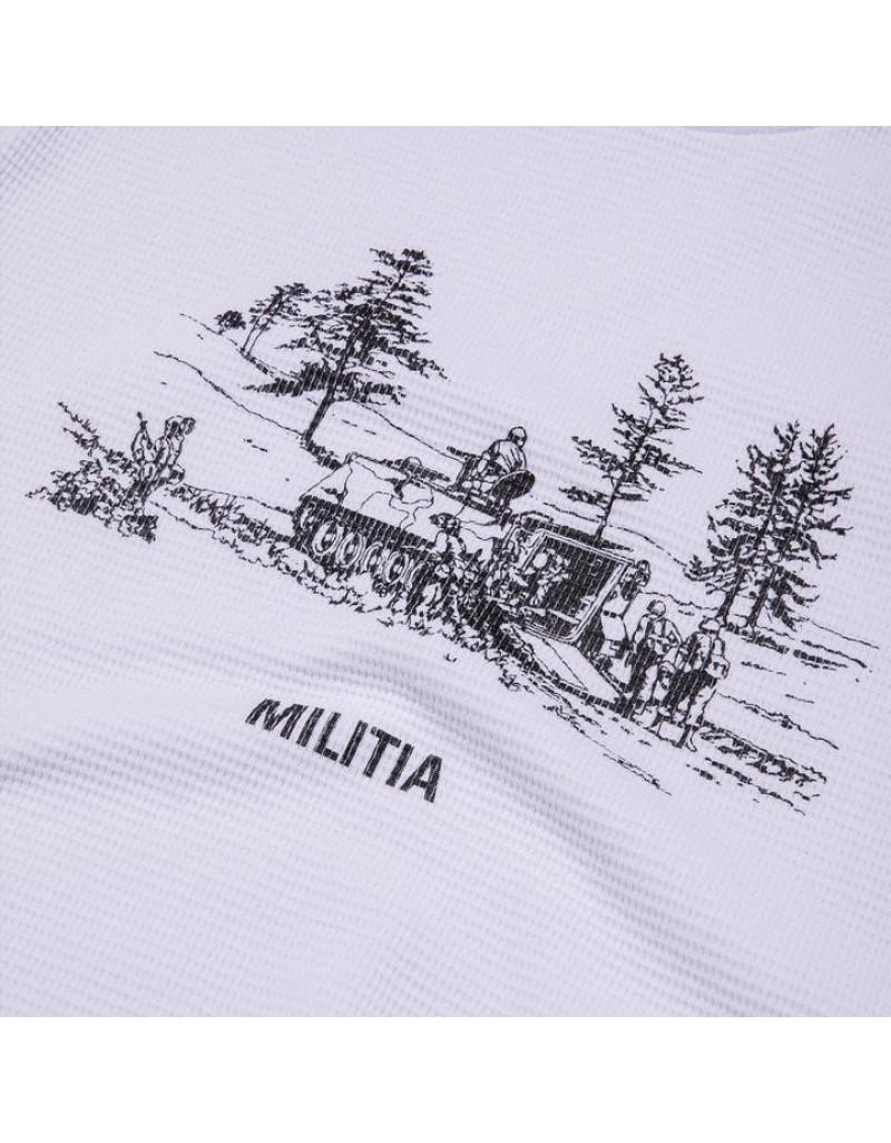 Militia LongSleeves White